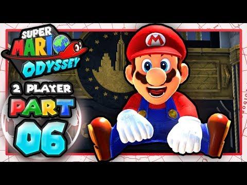 Super Mario Odyssey CoOp: Part 6  WE BACK BA! 2 Player