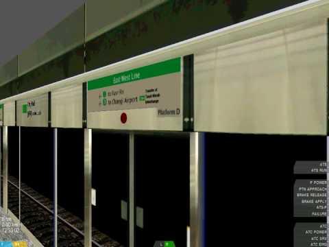 [openBVE] East West Line[Siemens...
