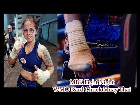 WMO Kard Chuek Muay Thai - MBK Fight Night 17th January 2018