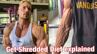 How to get Shredded AF diet explained step by step