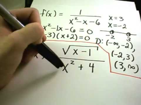❖ Finding the Domain of a Function -  Made Easy! ❖