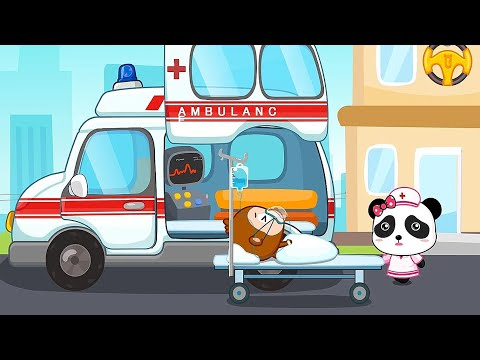 Baby Panda Learns Transportation - Children Learn Common Vehicles   Baby Panda games