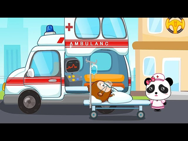 Baby Play and Learn Transportation | Baby Panda Fun Games
