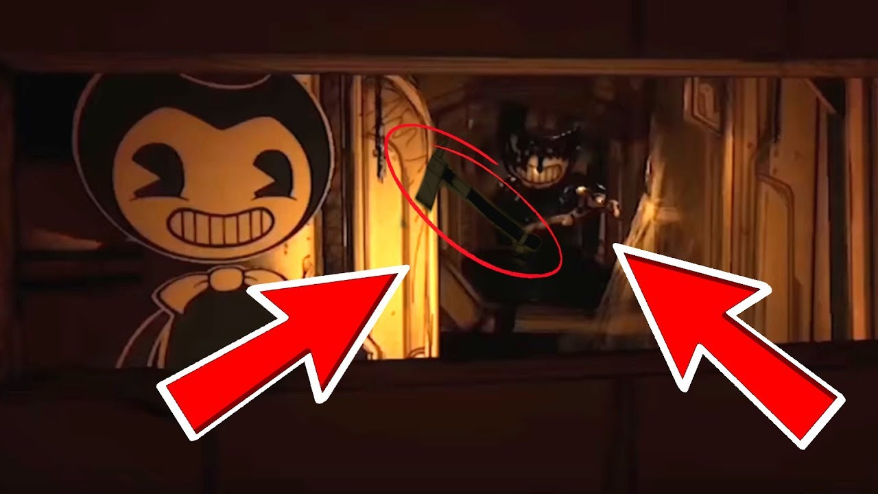 ALL SECRET FACTS YOU MISSED IN BENDY AND THE INK MACHINE