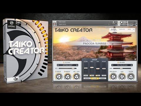 Taiko Creator - Kontakt Sample Library - Demo