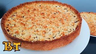 Тёртый пирог с яблочным повидлом и приятный бонус из оставшегося теста с апельсиновым повидлом