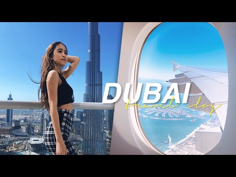 ドバイ旅行 PART 1 【 TRAVELENA 】| DUBAI TRAVEL VLOG!!