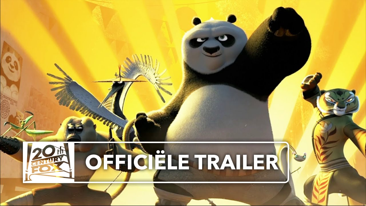 Kung Fu Panda 3 Officiële Trailer 3 Nederlands Gesproken Youtube