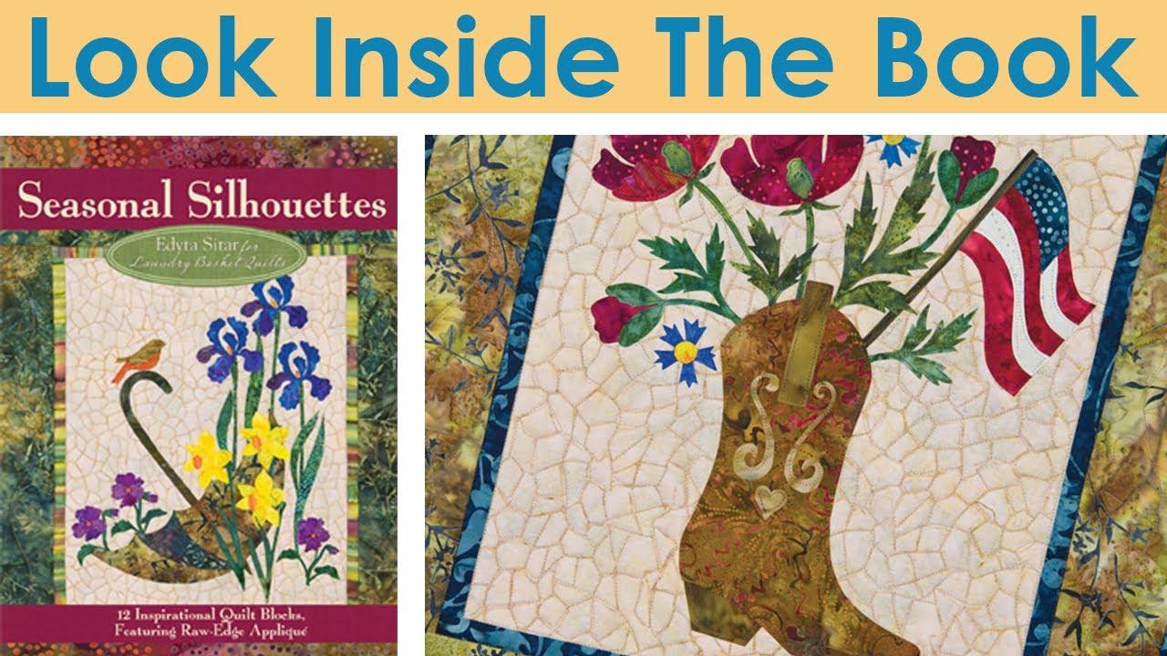 Look Inside The Book Seasonal Silhouettes By Edyta Sitar