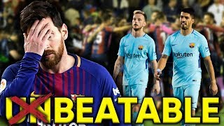 Was Lionel Messi's Absence The Reason Barcelona Lost Their Invincible Record?! | Euro Round-Up