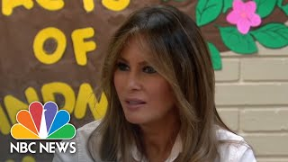 First Lady Melania Trump Visits Texas Migrant Detention Center | NBC News
