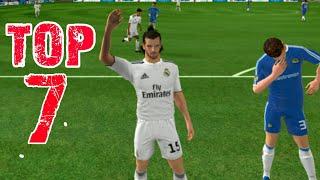 TOP 7 BEST GOALS ● Dream League Soccer 2018 HD - Real Madrid