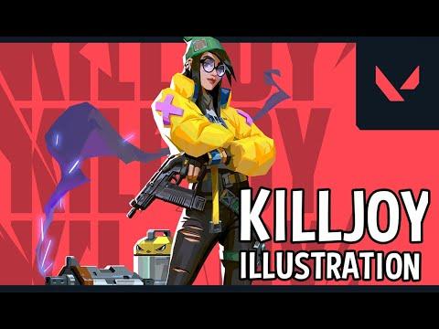 KILLJOY - painting process