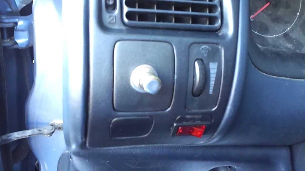 medium resolution of push button start in 1995 toyota corolla