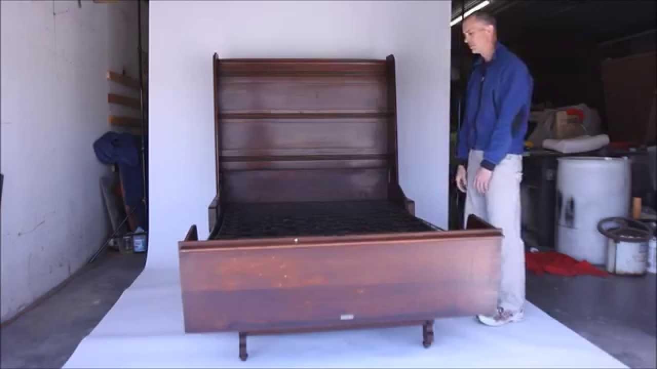 hide away furniture. Victorian Windsor Folding Bed - Murphy Style Hide-away Furniture Hide Away