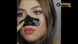 Face Care Suction Black Mask Facial Mask Nose Blackhead Remover Peel Off Black Head Acne Treatments   AJ Cheap Deals