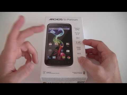Archos 53 Platinum - déballage | par Top-For-Phone.fr