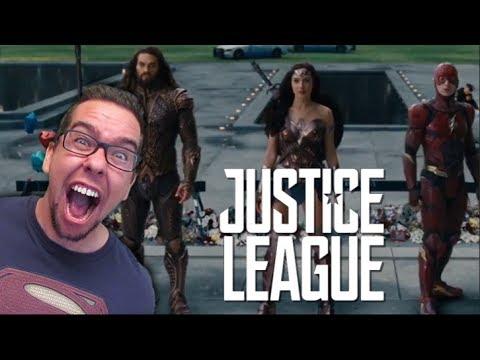 Justice League Trailer #2 Comic Con Trailer Reaction