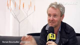 Salone del Mobile.Milano 2017 | MAGIS - Ronan Bouroullec talks about the wrought iron collection
