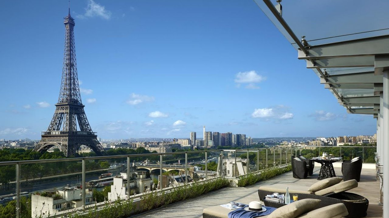 Top 10 Luxury Hotels Near Eiffel Tower In Paris France