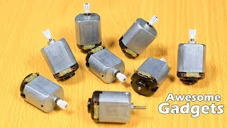 2 Incredible Gadgets From DC Motor - DC Motor Life Hacks