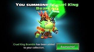 Dungeon Boss: Cruel King Bramble Event Heroic Rolls!  Will My Terrible Heroic Summons Luck Change?