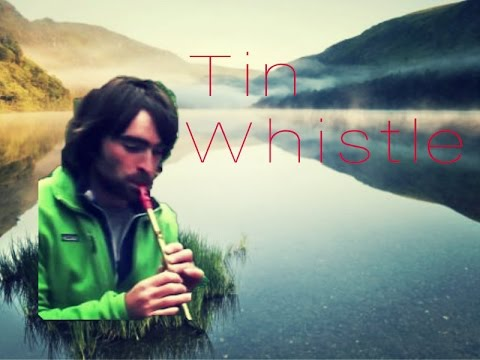 Irish Tin whistle 3 songs: traditional, Drunken Sailor, Scotland the Brave on Irish Tin whistle