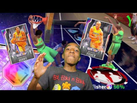 GALAXY OPAL DEREK FISHER & GALAXY OPAL ROBERT HORRY! NEW LOCKER CODES! NBA 2K20 MyTeam Dynamic Duos!
