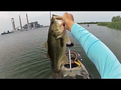 Bass SMACKDOWN: Kayak Fishing Lake Fayette