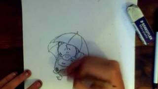 Tatty Teddy Speed Drawing (Me To You)