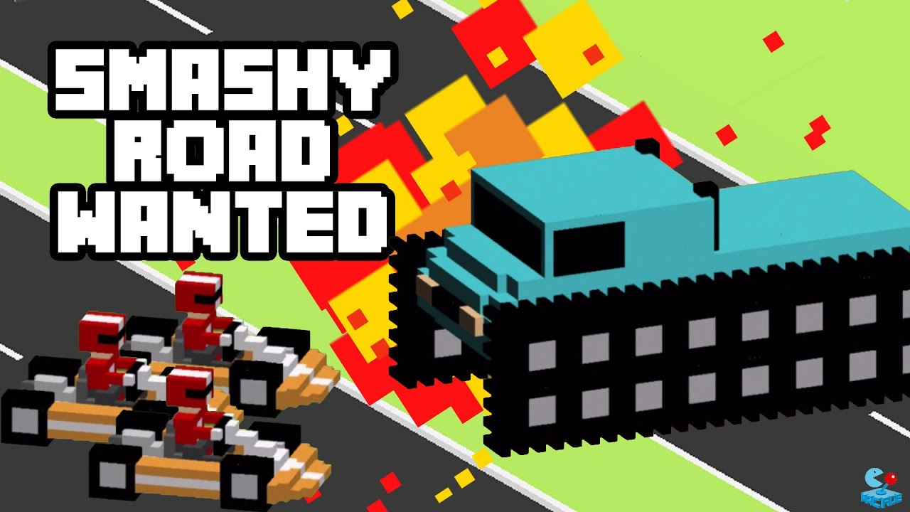 The most addictive car racing game smashy road wanted youtube the most addictive car racing game smashy road wanted sciox Image collections