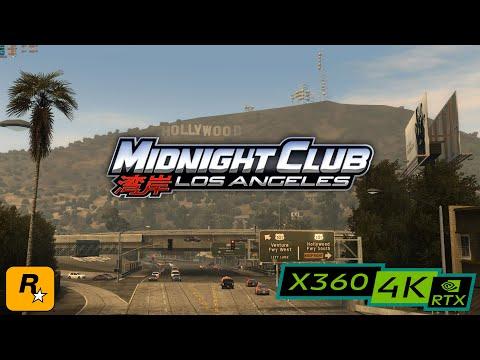 Midnight Club: Los Angeles / RTX 3080 4K / XBOX 360 emulator XENIA