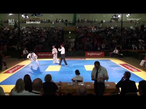 Alan Shnawa (England) v Artem Solovev (Russia) 2nd Round Open Knockdown Tournament 2014