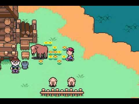 Mother 3 featuring Ness as Lucas (Rom Hack V2)