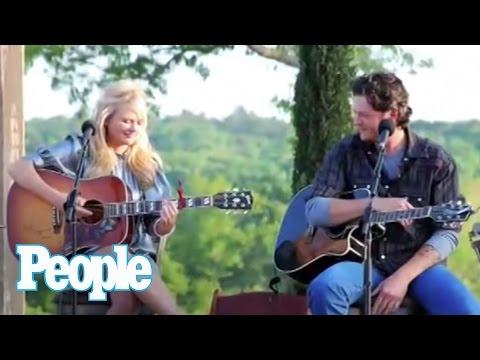 Blake Shelton and Miranda Lambert's Fiery Date   People