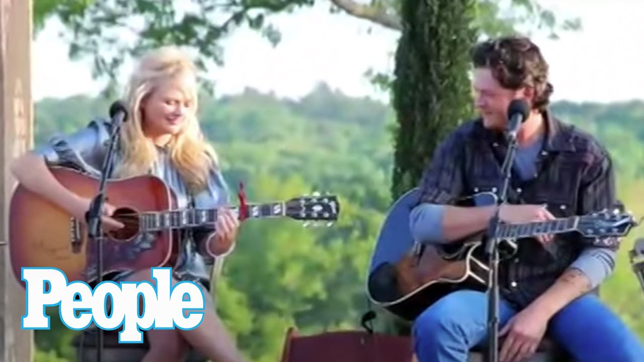 Blake Shelton and Miranda Lambert's Fiery Date | People