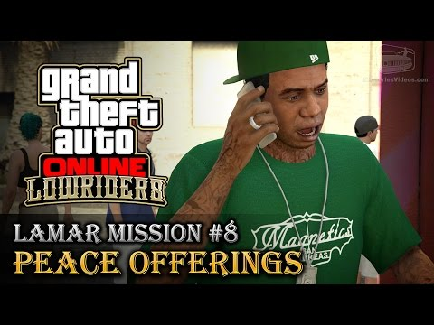GTA Online Lowriders - Mission #8 - Peace Offerings [Hard Difficulty]