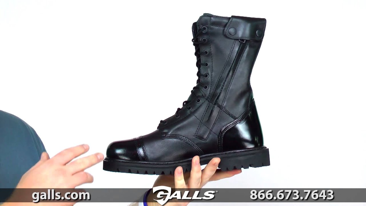 Rocky 10 Quot Paratrooper Side Zip Boot At Galls Sp262 Youtube