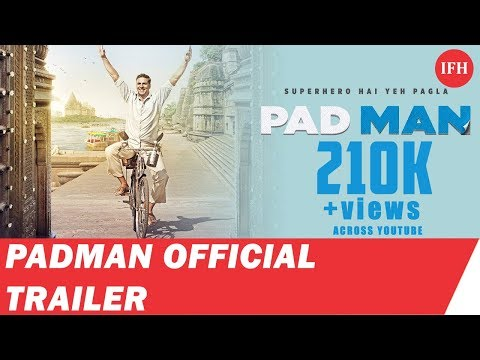 PADMAN OFFICIAL TRAILER 2017  AKSHAY KUMAR Upcoming Movie 2017