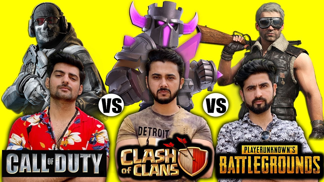 Clash Of Clans Vs Pubg Vs Call Of Duty Mobile - Fans Forever(Part 1) | Khelte Rahoo