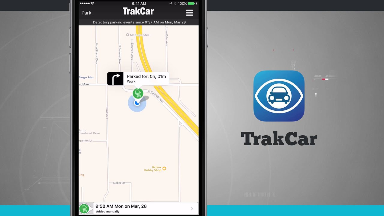 Trakcar Find Where You Parked Your Car Iphone App Demo Youtube Loop Kartini Ps4 Persona 5 Steel Book Launch Edition