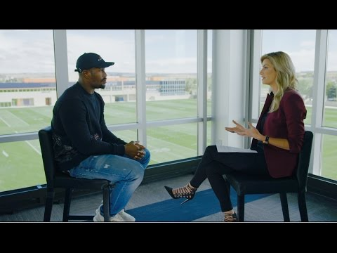 Von Miller sits down with Erin Andrews