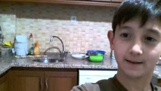 Bulaşık makinesi ile selfie