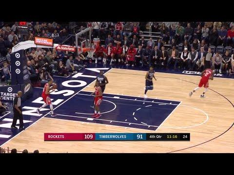 4th Quarter, One Box Video: Minnesota Timberwolves vs. Houston Rockets