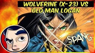 Wolverine (X-23) Vs Old Man Logan