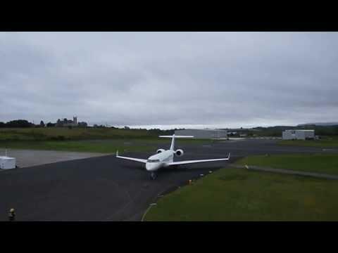 N4T Landing at Enniskillen Airport