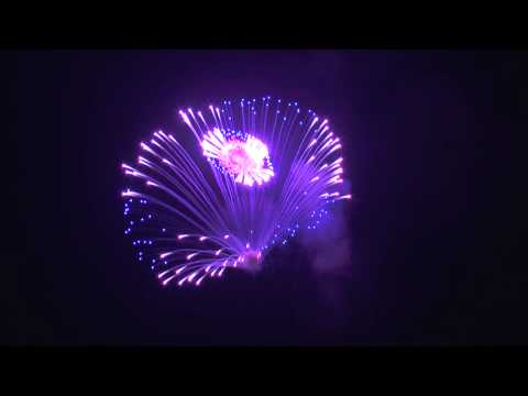 St Andrew's Band Fireworks Factory - Fireworks - Multi break color and beraq shells 2013