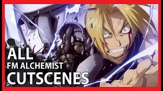 Fullmetal Alchemist 2: Curse of the Crimson Elixir - All Cutscenes (Video Game Movie - 1080p)