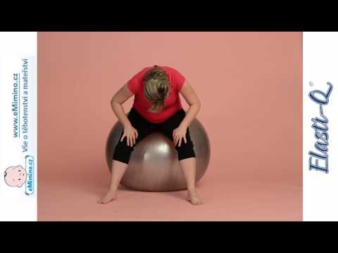 Cvičení pro úlevu od bolesti zad v těhotenství.