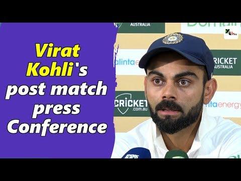 Watch: Virat Kohli's full post-match press conference | Boxing Day Test | Australia vs India